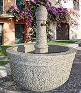 steinbrunnen Gartentraum