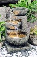 Wasserfallbrunnen