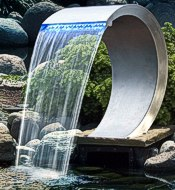 Mamba-Wasserfall-Edelstahl