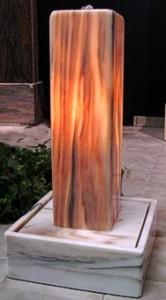 Lichtbrunnen Marmor