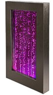 Hängender Wandbrunnen mit mehrfarbiger LED-Beleuchtung