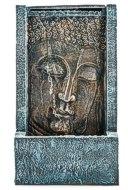 PAJOMA 43107 Zimmerbrunnen Buddha Tashima, LED Beleuchtung , Kunstharz, Höhe 48 cm