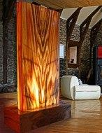 Zimmerbrunnen Licht-Wasserwand 'Mystic-Wall-Grande'