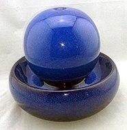 Keramik blau Seliger