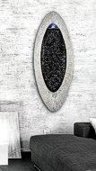 Wandbrunnen oval