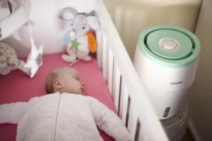 Luftbefeuchter für Baby