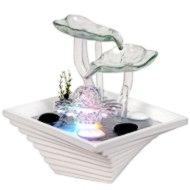 Tischbrunnen Set Glas