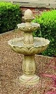 Majestic Wasserspiel Springbrunnen mit 3 Schalen