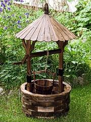 Unikatbrunnen Holz