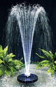 Solarbrunnen Fontäne