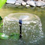 Solarbrunnen für Teich